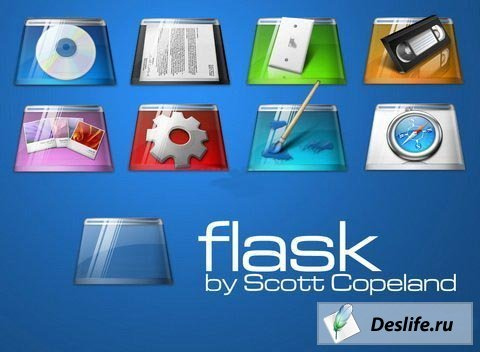Иконки Flask