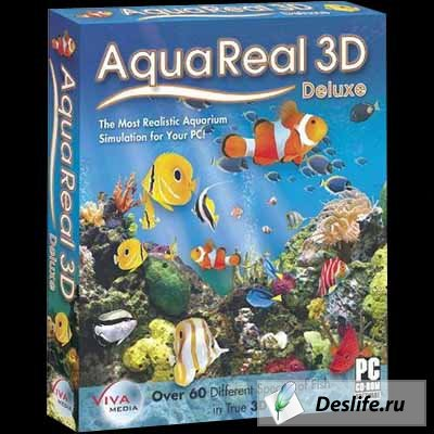 AquaReal 3D Aquarium Screensaver v1.5.1 Full