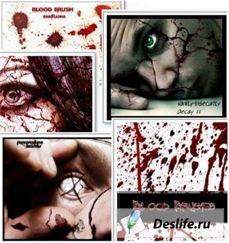 Photoshop Brushes Blood (создание окровавленных эффектов)