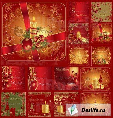 Рождественксие открытки - Christmas Greeting Cards