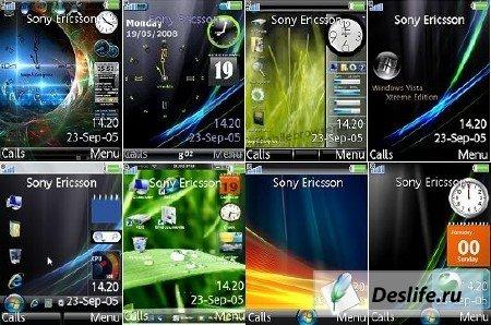 Темы для телефонов семейства Sony Ericsson
