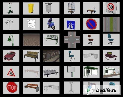 Dosch 3D - Architectural Details