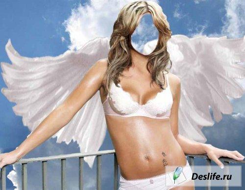 Angel Woman - костюм для Photoshop