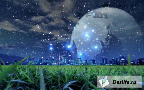 Интересные обои - Amazing Digital Art Nature Wallpapers