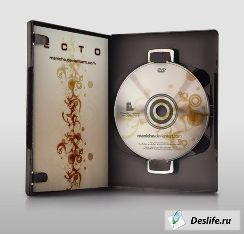 Шаблоны - DVD Case Art