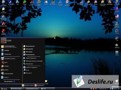 Тема для Windows XP - Озеро