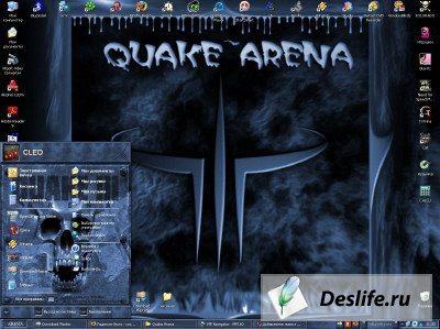 Тема для Windows XP - Quake_Arena