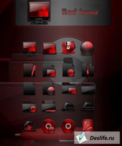 Red Icons - Иконки