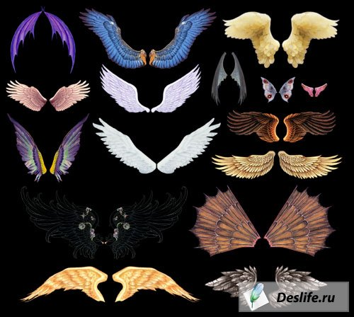 Крылья - Клипарты