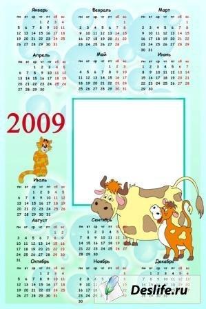 Календарь на 2009 г.