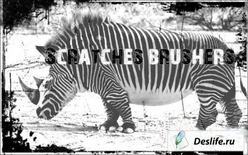 Scratches brushers - Кисти в виде царапин