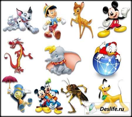 Walt Disney Icons - Иконки