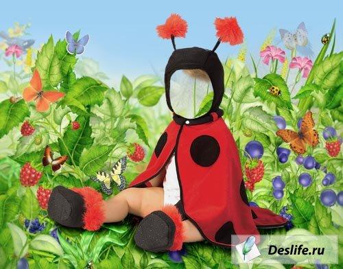 Божья коровка - PSD - Детский костюм