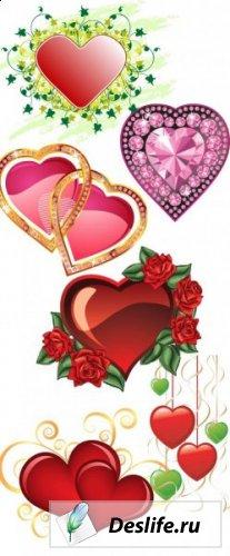 Сердечки - Клипарты