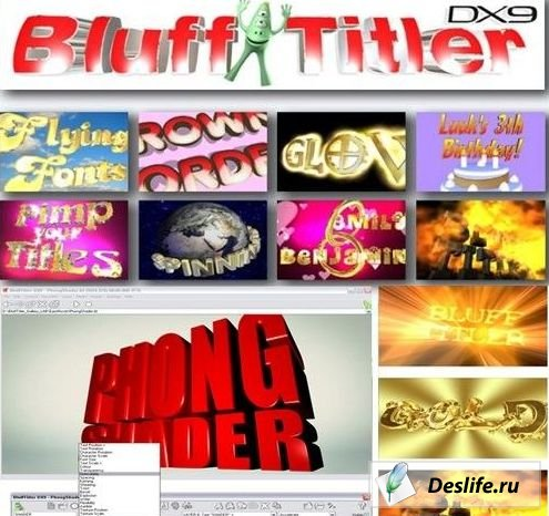 Blufftitler DX9 v7.15 + Rus