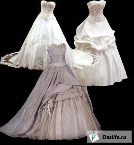 Свадебные платья - Клипарт