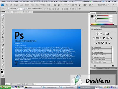 Adobe Photoshop CS4 Extended 11.0.(RUS)