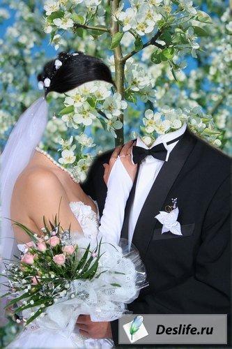 Свадебная пара - Костюмы PSD
