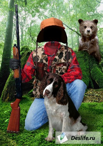 Охотник - Костюм PSD