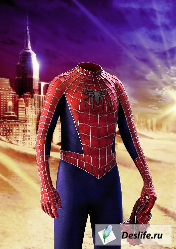 Человек-паук - Костюм PSD