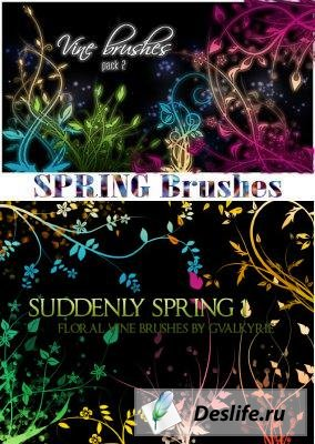 Spring Brushes - Кисти