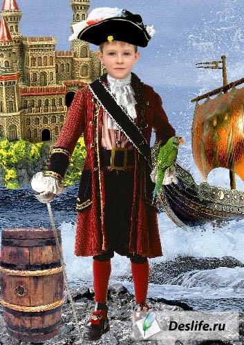 Маленький Пират - Костюм PSD