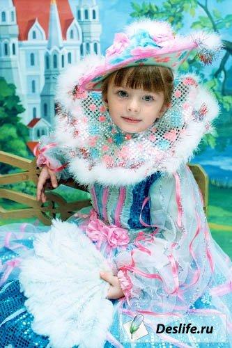 Принцесса - Костюм PSD