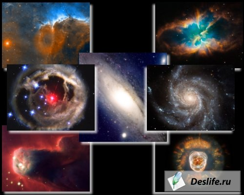 Фотографии космоса сделанные телескопом Хабл (Hubble)