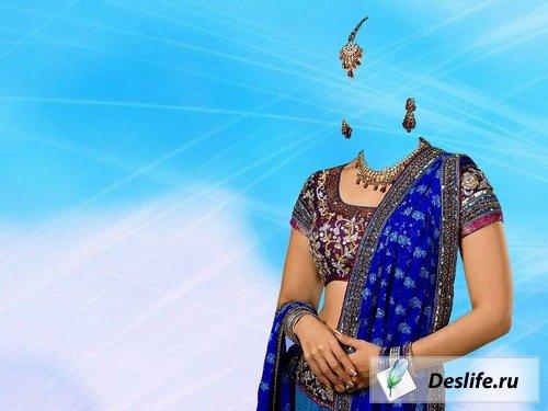 Индианка - Костюм для Photoshop