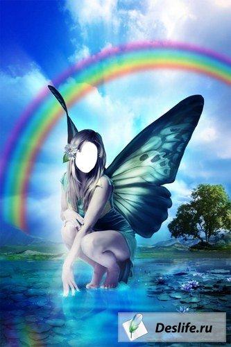 Бабочка - Костюм для Photoshop