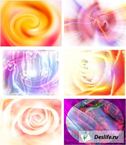 Абстрактные фоны