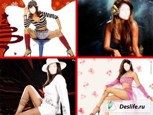 Очаровательные виртуальные костюмы для девушек