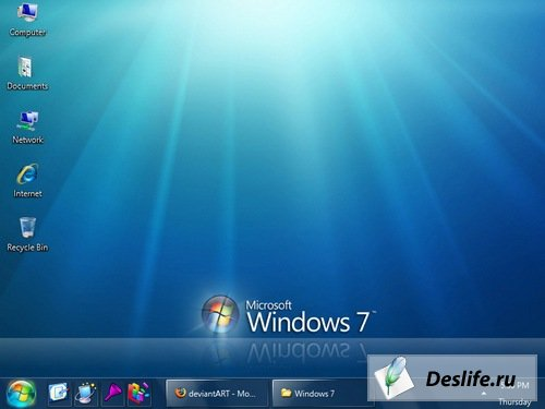 Windows 7 - Тема для Windows XP