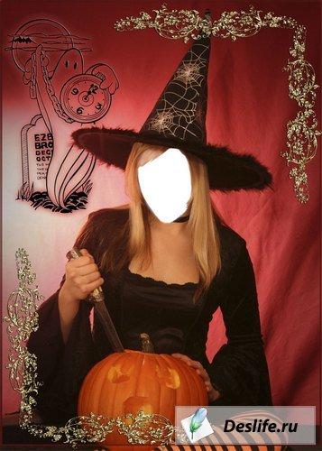 Ведьмочка - Костюм для Photoshop