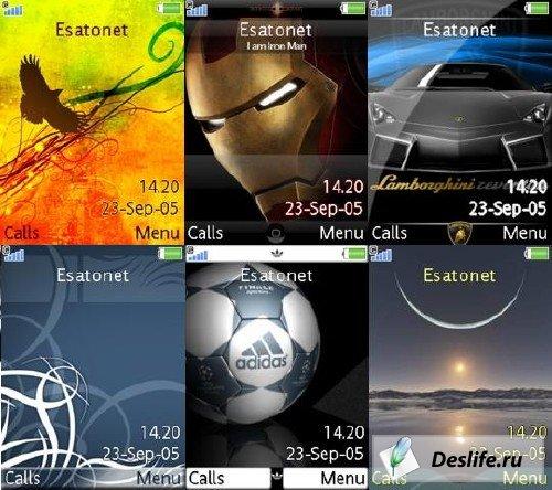 Лучшие и Красивийщие темы для Sony Ericsson (240x320)