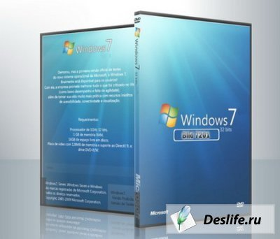 Microsoft Windows 7 7201x86 Virtual localpacks DreamScene Ultimate RU