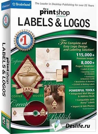 The Print Shop Labels & Logos v5.0