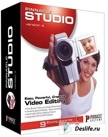 Pinnacle Studio 9.3 Русская версия