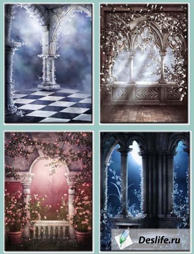 Фоны в готическом стиле