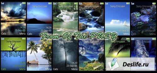 Nature Pack 1 - Темы для Sony Ericsson[240x320]