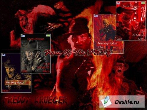 Freddy Krueger - Темы для Sony Ericsson [240x320]