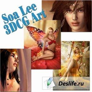 Soa Lee 3DCG Art  - Фэнтези