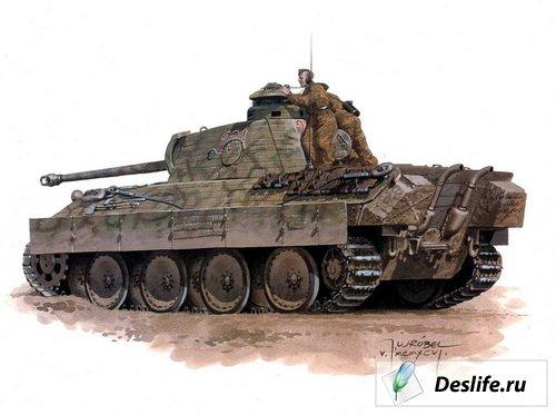 Немецкие танки 1939-1945
