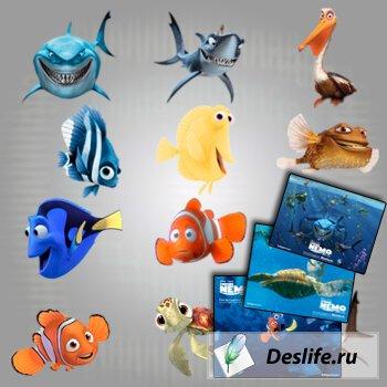 Иконки Finding Nemo