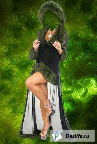 Гламурный костюм PSD