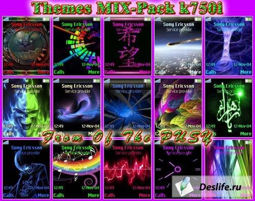 MIX Pack k750i - Темы для Sony Ericsson [176x220]