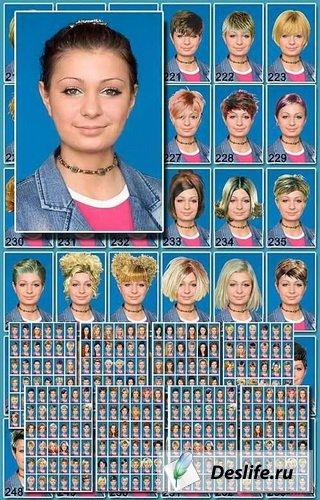 Женские причёски под своё фото