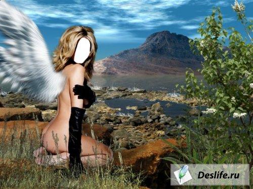 Девушка-ангел - Костюм PNG