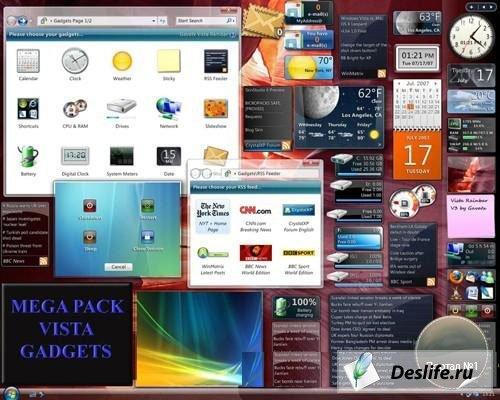 Гаджеты для Windows Sidebar