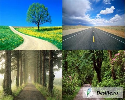 20 Road HD Wallpapers - Обои